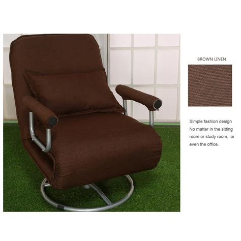 folding convertible lounger chair sofa lounge bed chaise