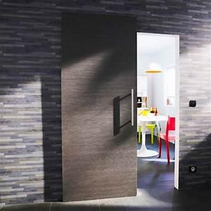Porte Coulissante D Intérieur : porte coulissante grise ~ Melissatoandfro.com Idées de Décoration