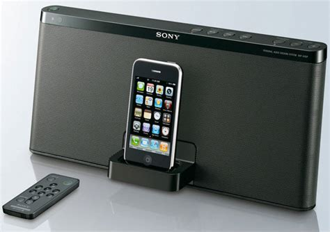iphone speaker dock new iphone and ipod speaker dock by sony