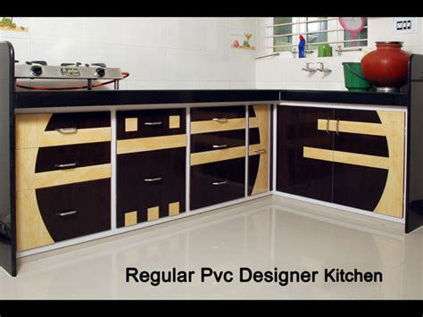 pvc kitchen furniture designs regular pvc designer kitchen furniture in ahmedabad kaka 4464