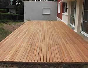 tbpe terrasse bois pavage environnement With parquet terrasse exterieur teck
