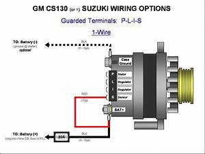 5 Wire Gm Alternator Wiring Diagram