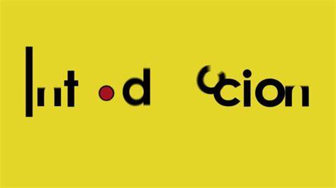 typography animation introduction on vimeo