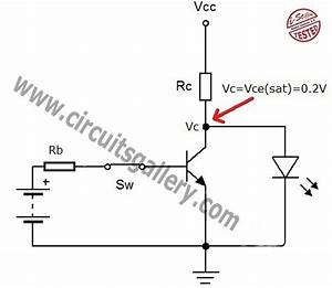 transistor act as a switch working and transistor With switch circuit