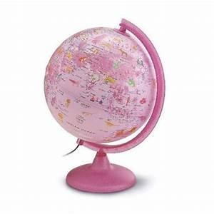 Globe Terrestre Pour Enfant : globe terrestre rose d coratif et ducatif cadeaux rose ~ Teatrodelosmanantiales.com Idées de Décoration