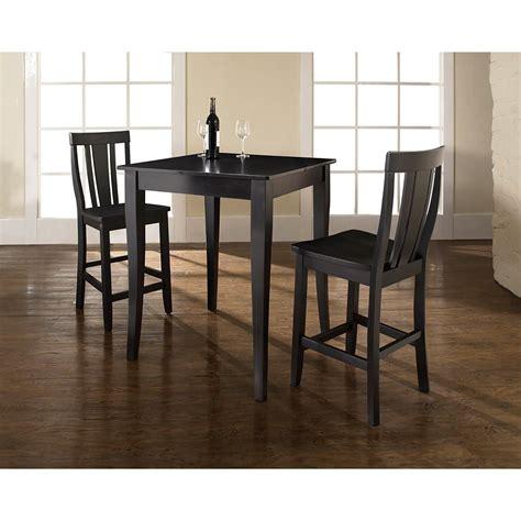 Black Dining Set by 3 Pub Dining Set Black D Kd320002bk Crosley