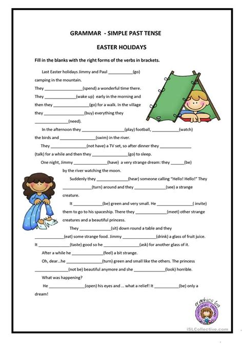all worksheets 187 esl past tense worksheets printable