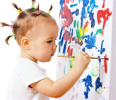 Artsheavy Preschool Helps Children Grow Emotionally New