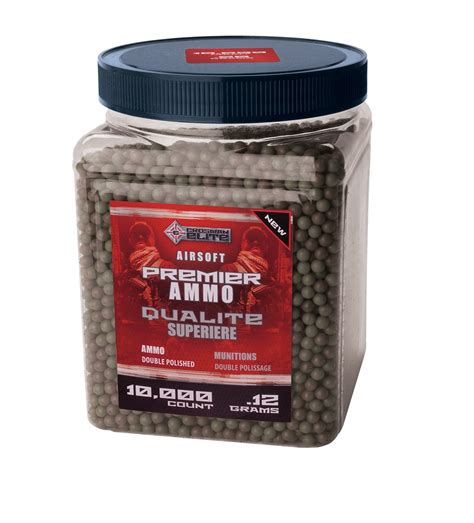 Crosman 10000 Count Airsoft Ammo .12g - Fitness & Sports