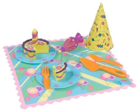 dora the explorer birthday cake play food set works with
