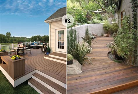 real wood  composite decking chris