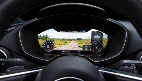 Digital Dashboards For Cars by Simpler More And Safer Car Dashboards Are Coming