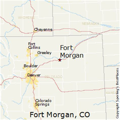 places    fort morgan colorado