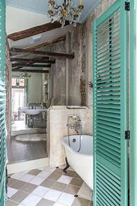 Salle De Bain Couleur Bois : le th me du jour est la salle de bain r tro ~ Zukunftsfamilie.com Idées de Décoration