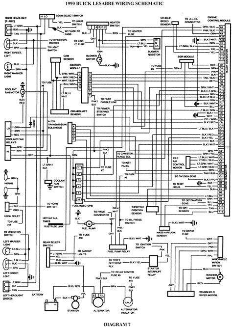 2002 Buick Lesabre Radio Wiring Diagram by 1996 Buick Lesabre Wiring Diagram Diagrams 1994 Ignition