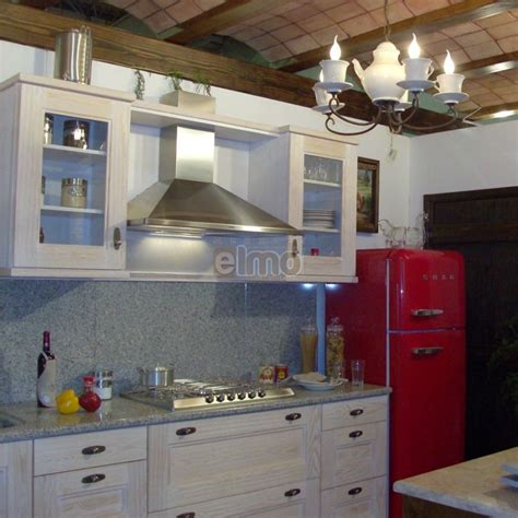 Cuisine Aménagée Chêne Blanchi Plan De Travail Granit Cantina