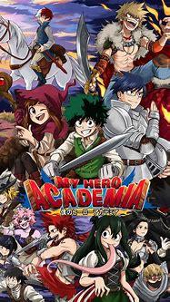 Fantasy my hero academia.