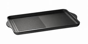 Eurolux guss grillplatte 43 x 28 x 2 cm induktion im test for Induktion grillplatte