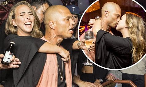 Defiant Chloe Green Kisses Jeremy Meeks In Dortmund