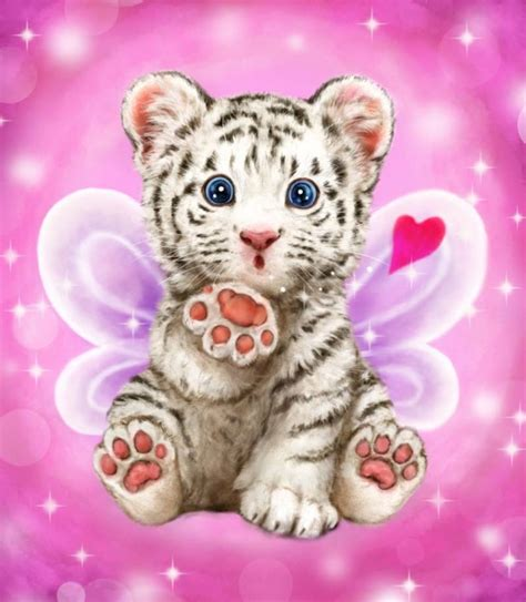 baby tiger kiss