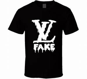 Louis Vuitton Logo t-shirt Fake Wet Paint COOL fashion ...