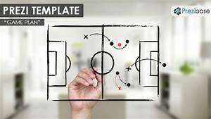 prezi template with a strategy game plan concept a hand With good prezi templates