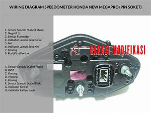 Wiring Diagram Speedometer New Megapro  U2013 Child Blog Garasi
