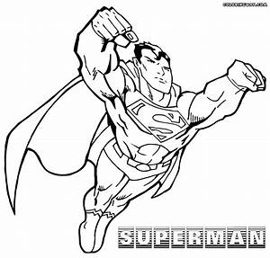 Superman coloring pages | Coloring pages to download and print