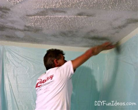 remove popcorn ceilings how to remove popcorn ceilings in 30 minutes