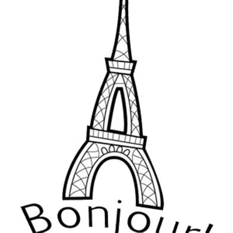 France Free Colouring Pages