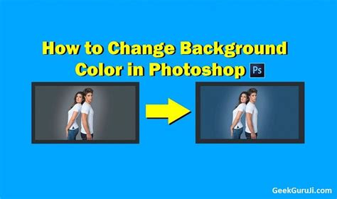 how to change a color in photoshop how to change background color in photoshop step by step