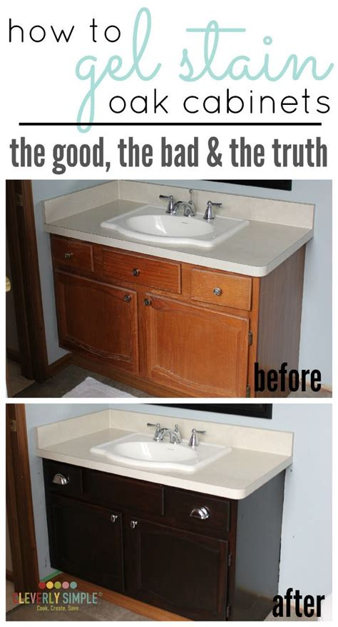 how do you stain kitchen cabinets best 25 refurbished cabinets ideas on paint 8448