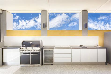 Outdoor Cabinets Perth by Outdoor Kitchens Perth Alfresco Bbq Kitchens The