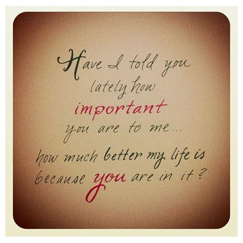 Quotes Your Important Me