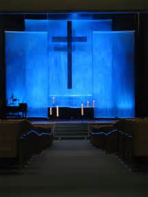 String Curtain Church Stage Design Idea Many Concepts Used In Church Stage Design