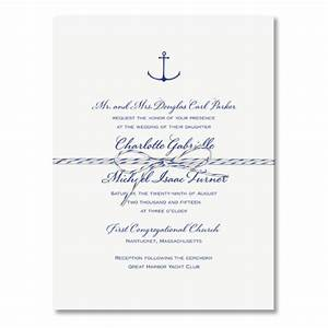 nautical wedding invitations paperstyle With nautical chart wedding invitations