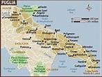 Map of Puglia & Basilicata   Puglia italy, Southern italy ...