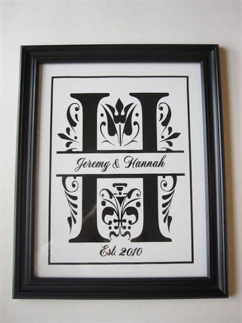 split letter monogram frame great gifts pinterest gifts wedding  monograms