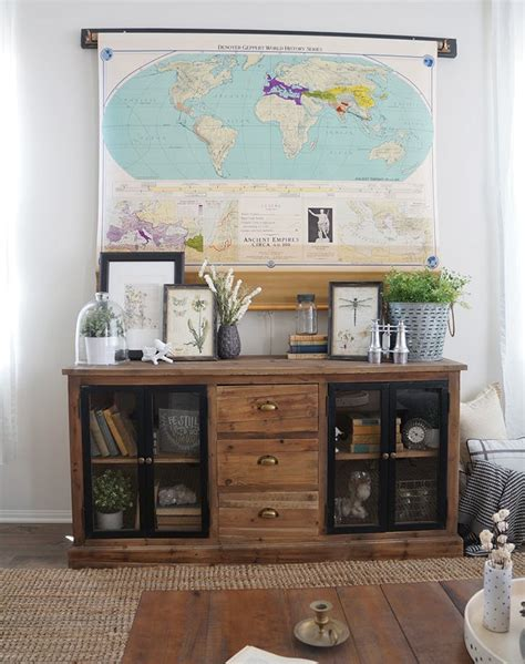 clever ways  hide  tv   room purewow