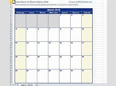 Calendario de vacaciones 2018, más de 100 plantillas para