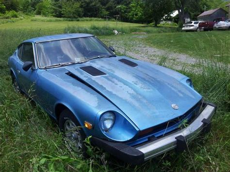 Datsun 280z Parts by Sell Used 1978 Datsun 280z For Parts Or Repair Blue