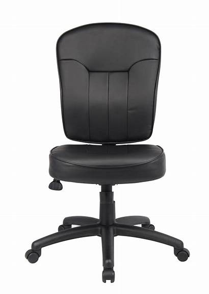 Chair Leather Task Boss Seating