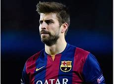 Teammates support Gerard Pique after receiving jeers from