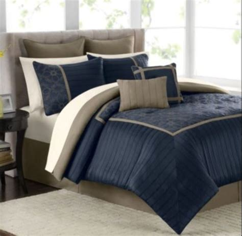 navy and brown bedding 1000 ideas about navy blue comforter on pinterest blue comforter blue comforter sets and