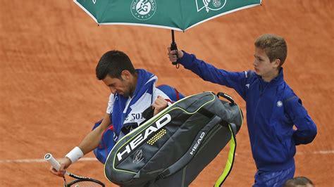 โนเล่ ชะงัก! ฝนป่วน 'เฟรนช์ โอเพ่น' เลื่อนแข่งหลายคู่