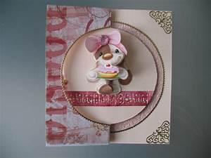 Carte Anniversaire Fille 9 Ans : une carte d 39 anniversaire pour une fille de 9 ans le scrap de tite brodeuse ~ Melissatoandfro.com Idées de Décoration