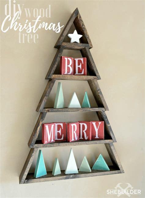 diy wood christmas tree ana white