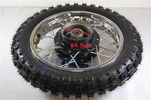 10 U0026quot  Rear Steel Rim Wheel Hub Drum Brake Xr50 Crf Xr 50