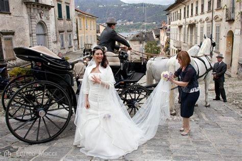 carrozza matrimonio addobbi floreali matrimonio lago maggiore