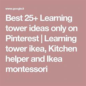 Best 25+ Learning tower ideas only on Pinterest